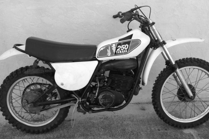Vendo YAMAHA MX250 1976