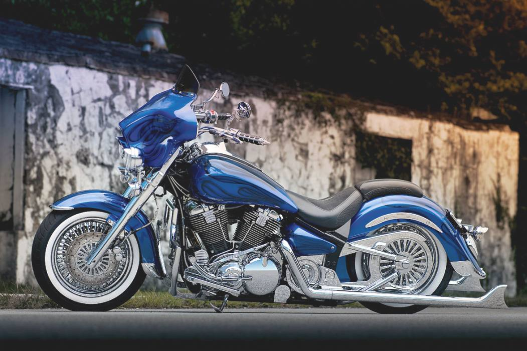 Foto: YAMAHA MIDNIGHT ROAD STAR 2009