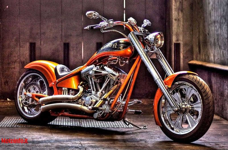 Foto: H-D MASSIGLIA DRAGON CHOPPER 2010