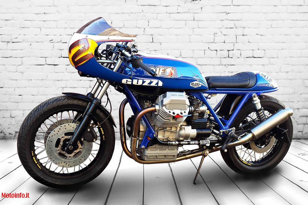 Foto: ROCKET CUSTOM GARAGE GUZZI CAFE RACER 2014