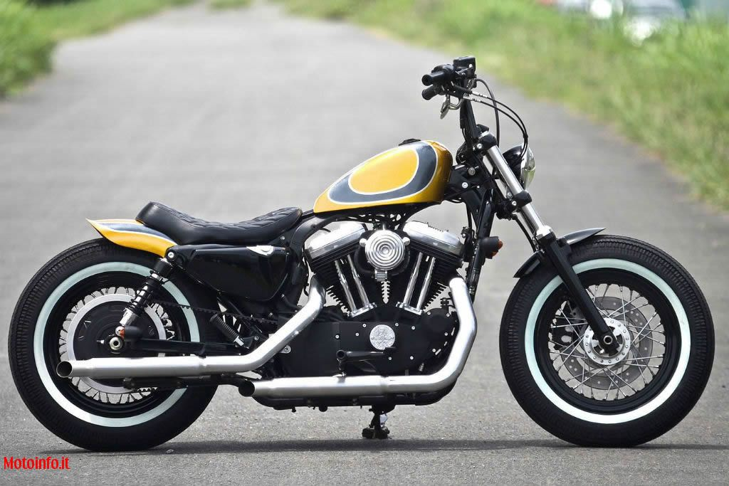 Foto: HIDE MOTORCYCLES SPORTSTER FORTY EIGH 2014