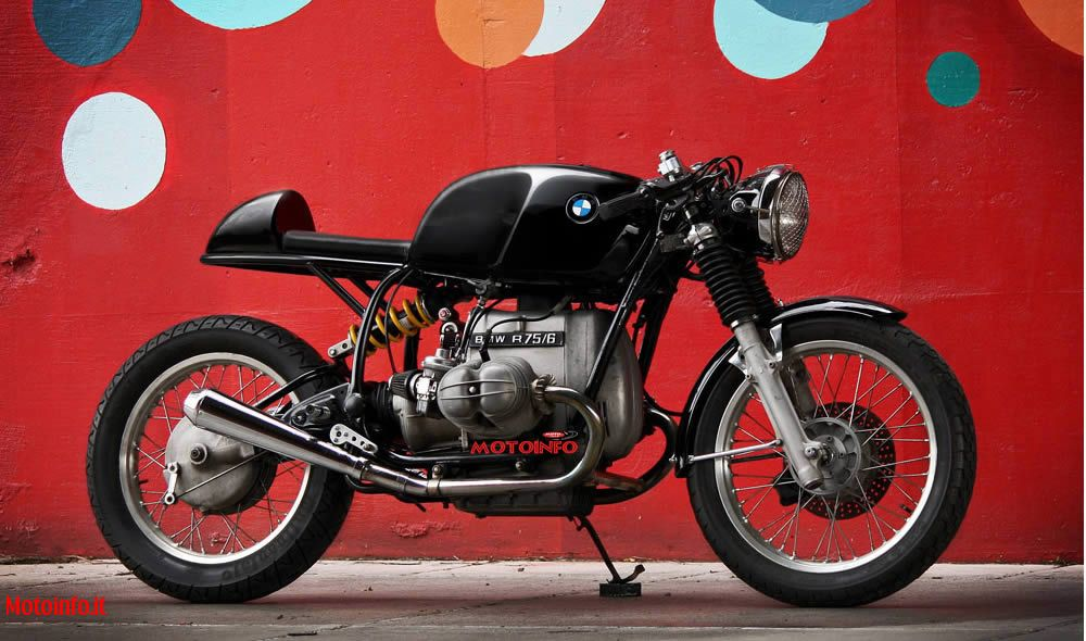 Foto: WILKINSON BROS BMW R75/6 CAFE RACER 2012