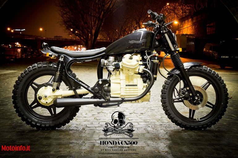 Foto: RIVE GAUCHE KUSTOMS CX500 STREET TRACKER 2012