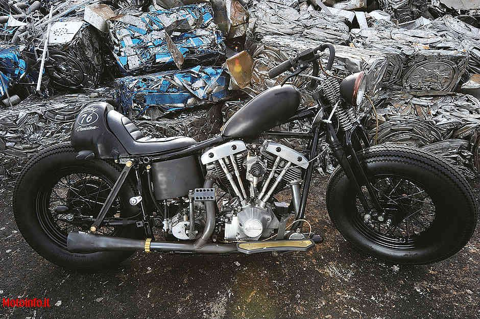 Foto: IRONS MOTORCYCLE H-D SHOVEL 76 2011