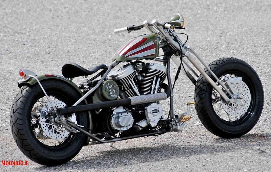 Foto: BRASS BALL THE MILITARY BOBBER 2009