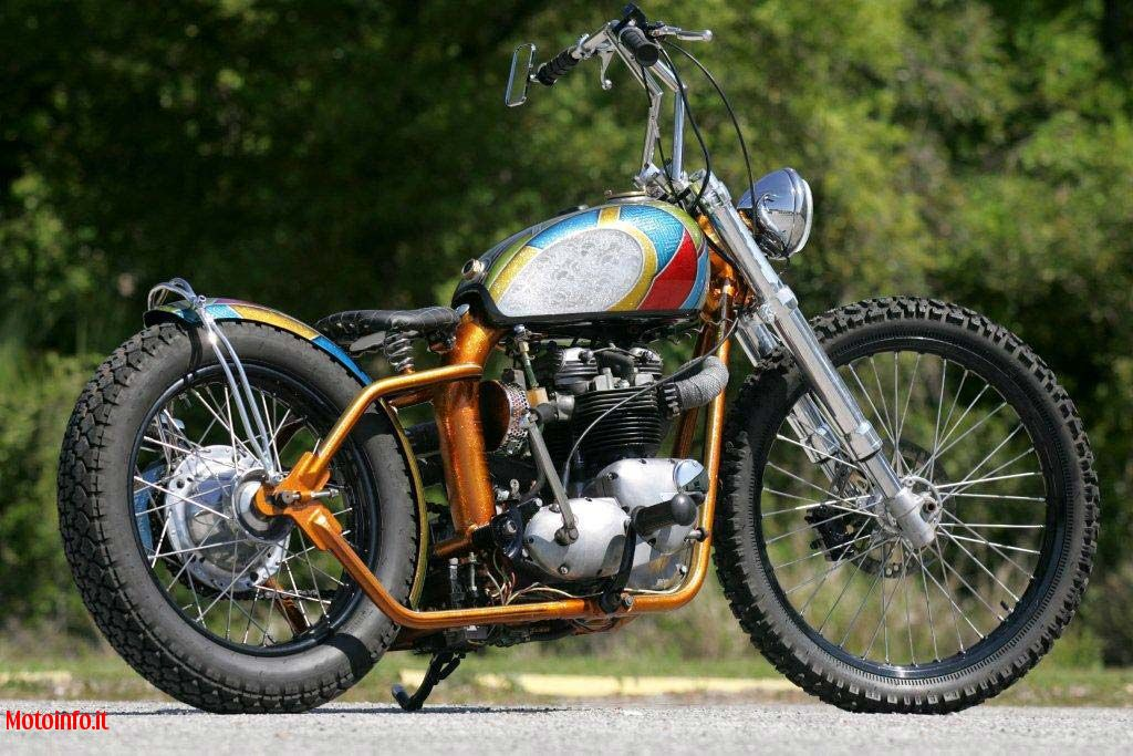 Foto: FNA CUSTOM CYCLES TRIUMPH 750 HARDTAIL 2011