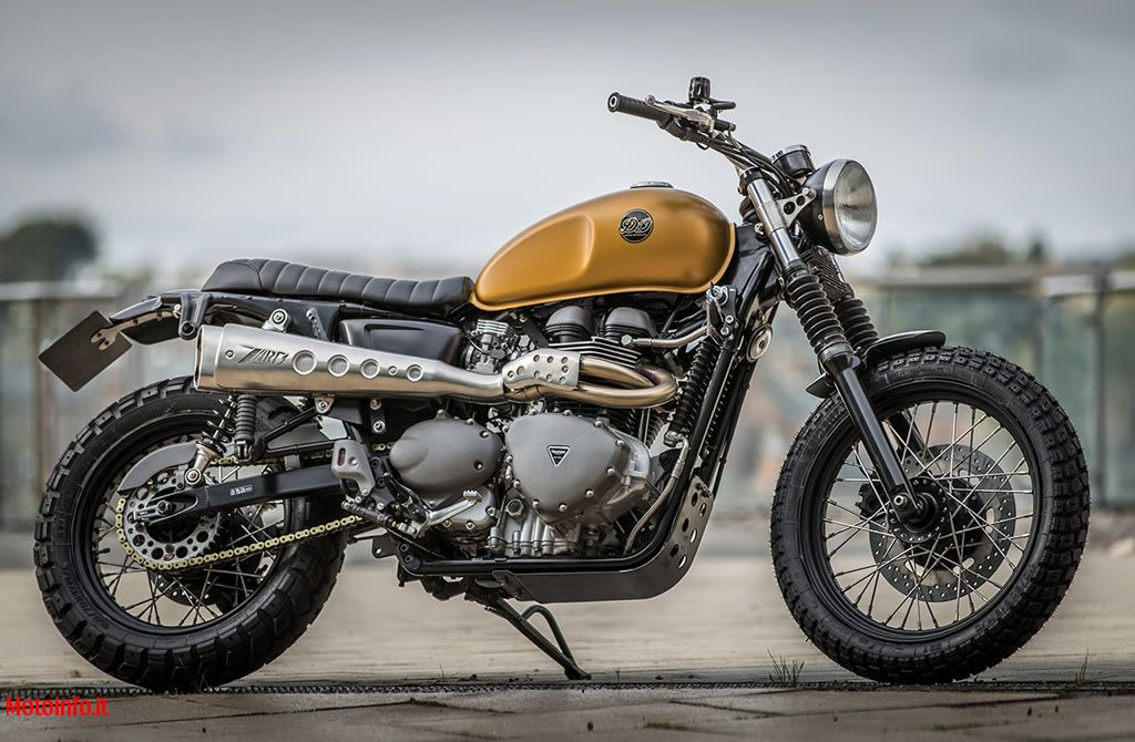 Foto: DOWN & OUT TRIUMPH SCRAMBLER 2014