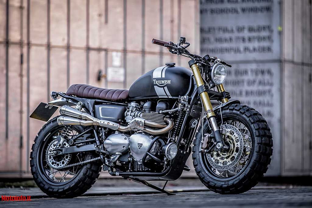 Foto: DOWN & OUT T100 CAFE RACER 2015