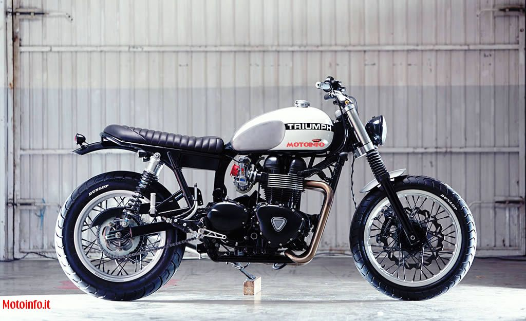Foto: KIDDO MOTORS THRUXTON CUSTOM 2012