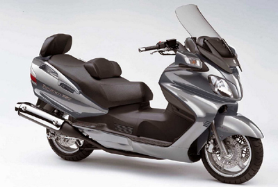 SUZUKI BURGMAN EXECUTIVE650 2007