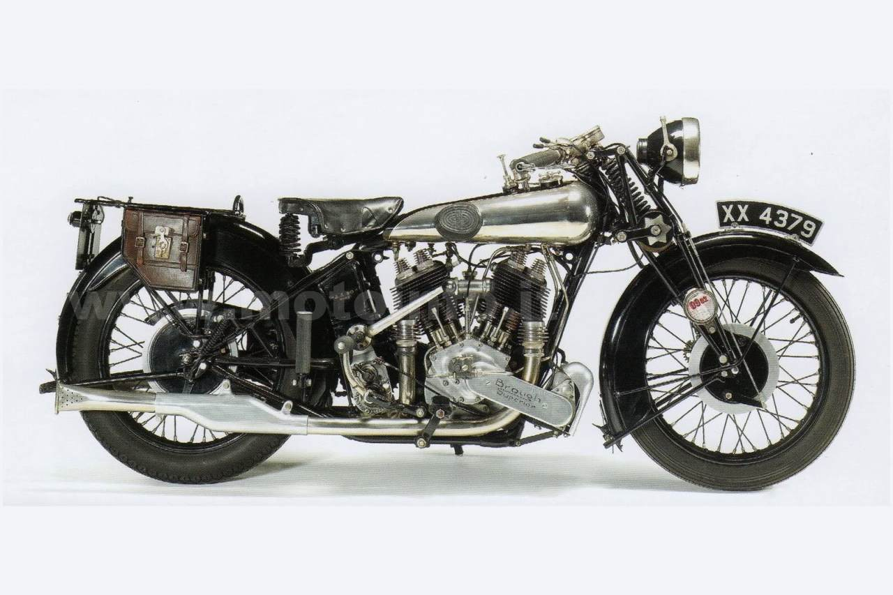 Foto: BROUGH-SUPERIOR SS 80 1938