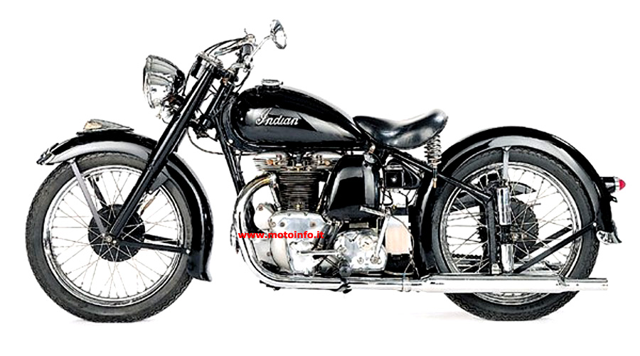 Foto: INDIAN SCOUT 1949
