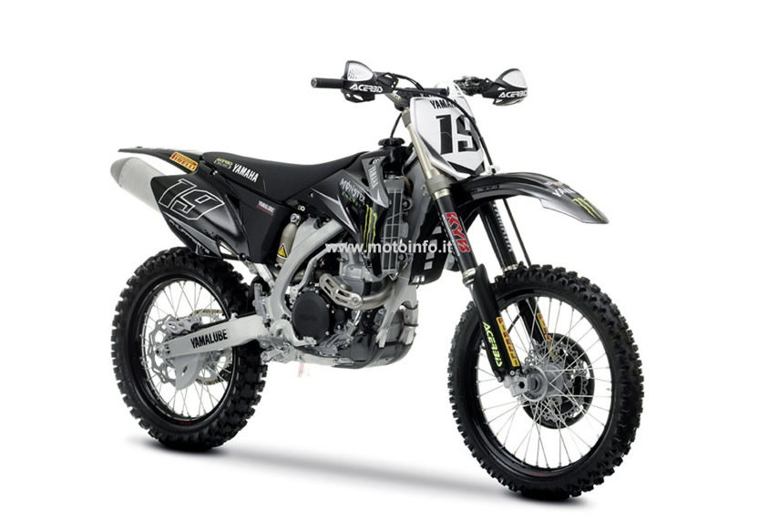 Foto: YAMAHA YZ450F TEAM REPLICA 2009