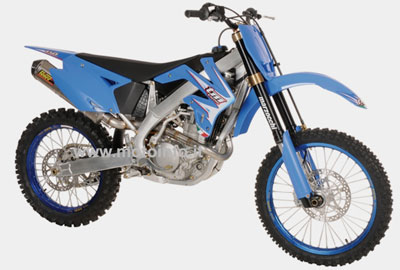 TM RACING MX 450 F 2009