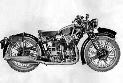 MATCHLESS SILVER HAWK 1935