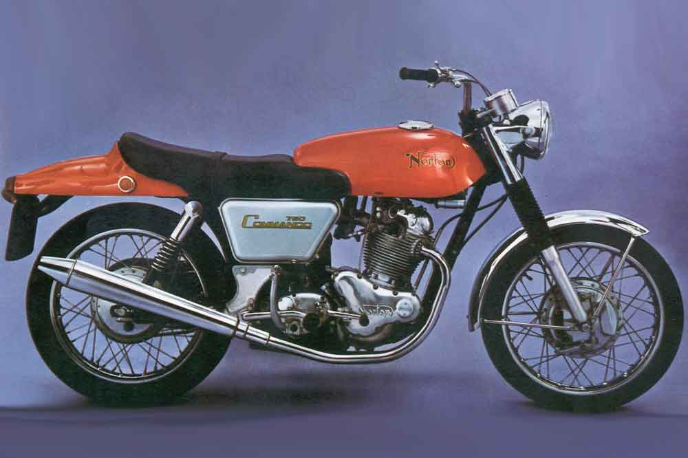 Foto: NORTON COMMANDO FASTBACK 1969