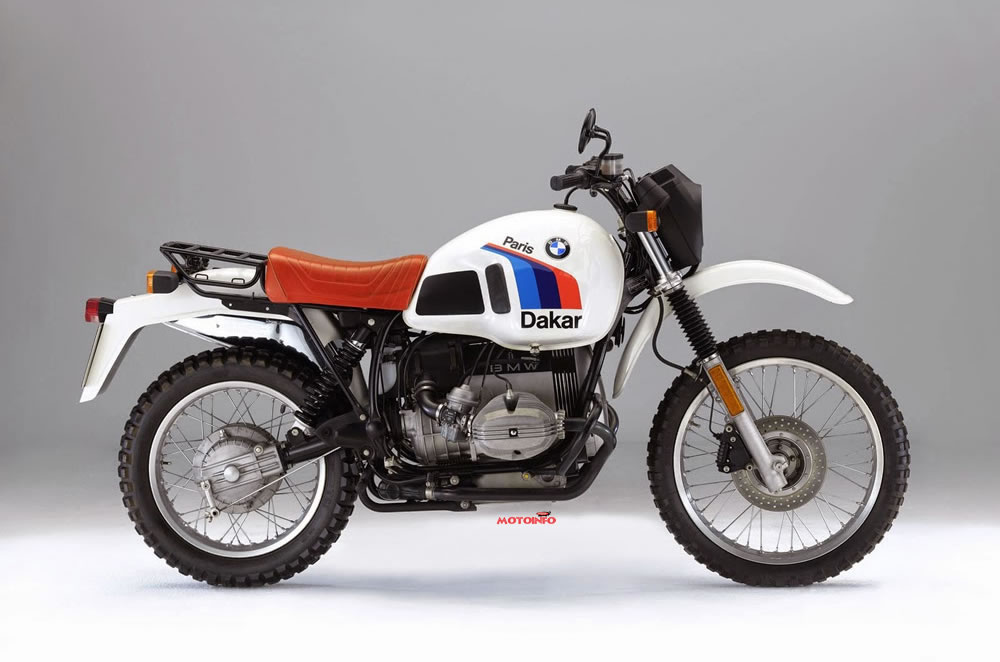 Foto: BMW R80GS PARIS-DAKAR 1984